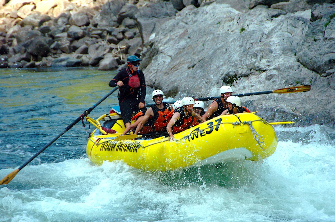 Enjoy a 5-star whitewater river rafting adventure during your stay at Siwash Lake Wilderness Resort.