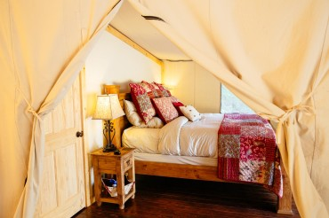 Luxury Glamping tent at Star Camp™, Siwash Lake Wilderness Resort