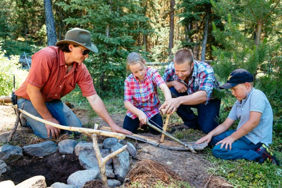Wilderness Survival is a privately guided Adventure at Siwash Lake Wilderness Resort.