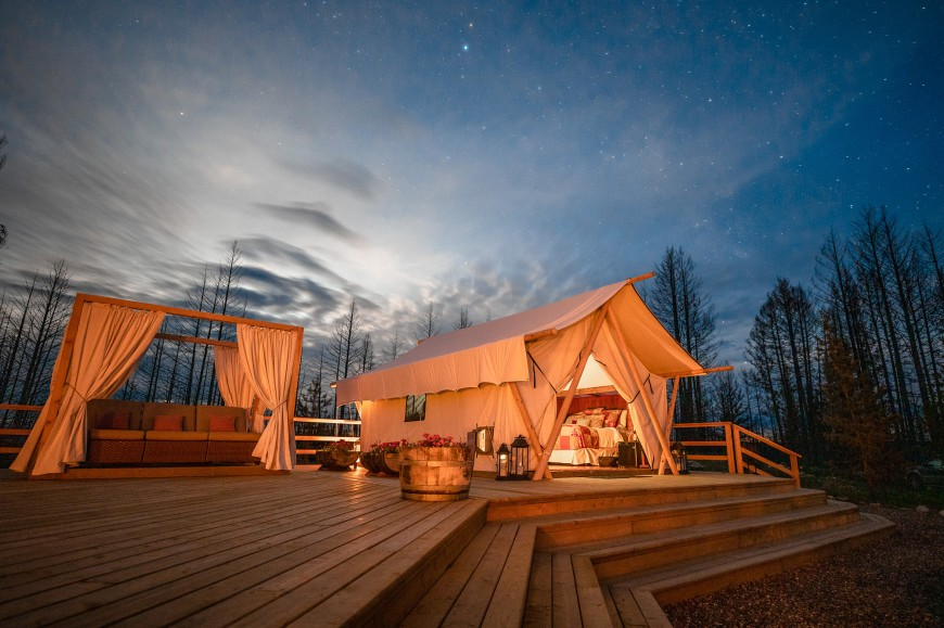 Best Glamping in British Columbia