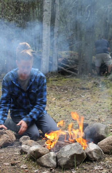 Learn to make a campfire