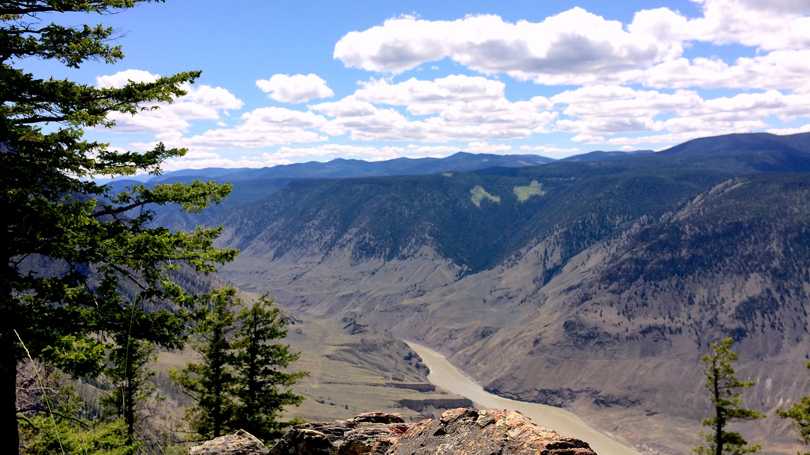 The Mighty Fraser River Canyon